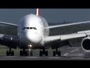 Экстремальная посадка А380 в Дюссельдорфе