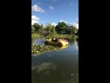 Сашка на водяной машине