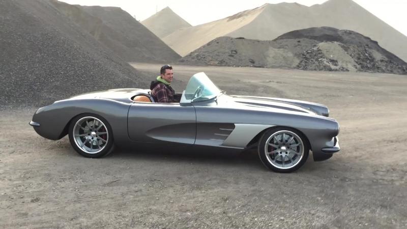 1960 Chevrolet Corvette With Aviation Theme and Plenty of Hi