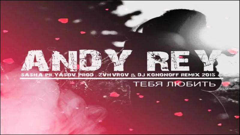 Andy Rey - Тебя Любить (Sasha Pilyasov Prod.) (ZVHVROV DJ KoNonOFF Remix )