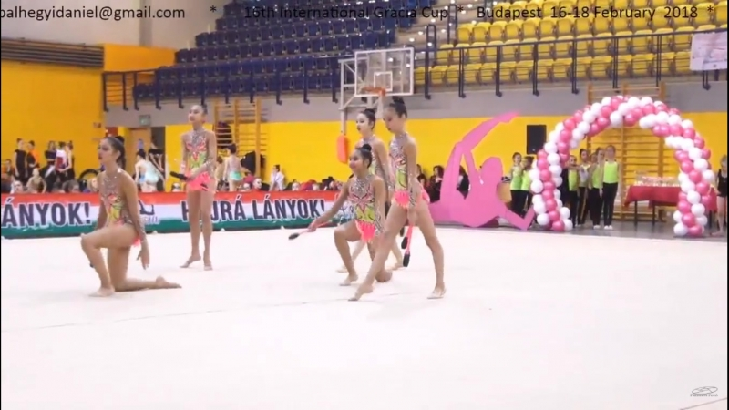 Групповые юниоры Gracia Fair Cup Budapest Hungary 16 18 02 2018