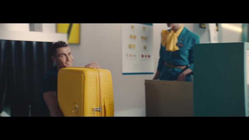 American Tourister - CR7 - Bring Back More (Реклама с Роналдо)