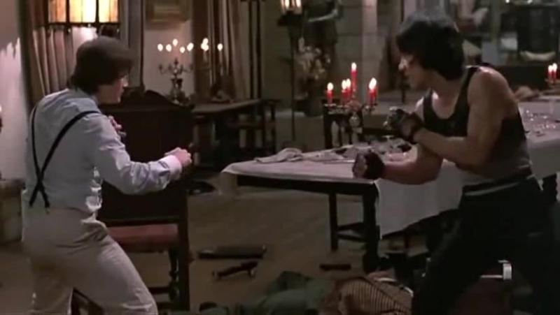 Джеки Чан против Бенни Уркидеса.