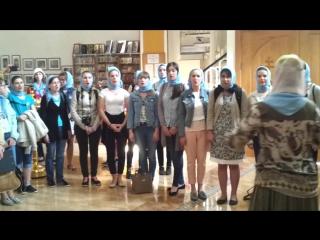 Архиерейский детский хор Духовно-просветительского центра при Пензенском епархиальном управлении под руководством Марины Владими