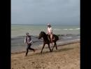 Прогулка по берегу моря😋🌊