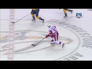 Datsyuk Unbelievable Goal Skates Through All The Defenders vs Nashville Predators 2/19/13 /
