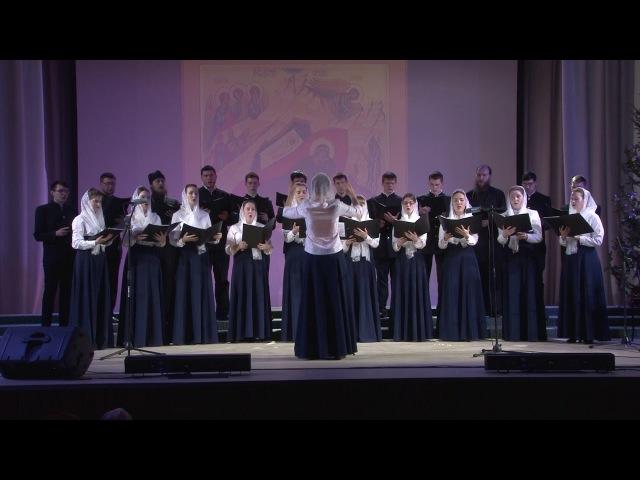 11 Коллектив Барнаульской духовной семинарии и Регентской школы