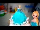 3д Торт Эльза / 3D Cake Elsa - Я - ТОРТодел!