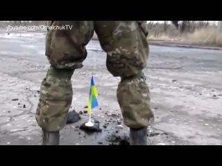 Расстрел россиянами дома в Углегорске из танка