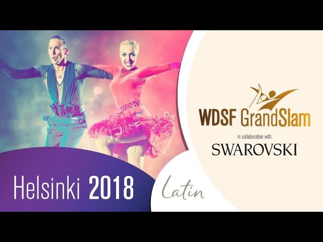 Armen Tsaturyan - Svetlana Gudyno, RUS | 2018 GS LAT Helsinki | R2 C