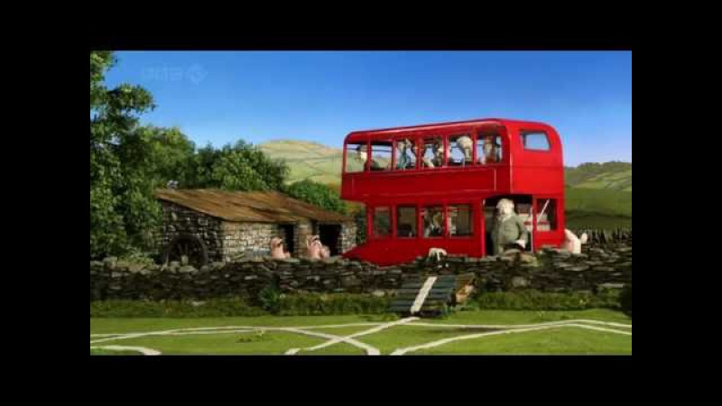 Барашек Шон серия 42 - Разметка / Shaun the Sheep - Draw the Line (HD)
