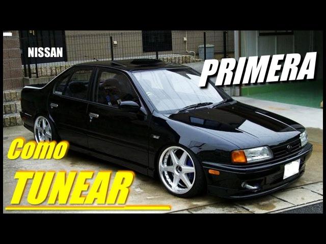 Como TUNEAR Nissan PRIMERA Infinity G20 P10 P11日産 日本の国内市場 チューニング