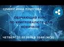 Обучающий курс по криптовалюте - Inna Punegova - Virrex.io