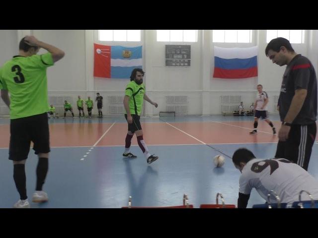 «ОКБ МЭЛ» - ФК «Ювелиры» (г. Обнинск) - 1 тайм