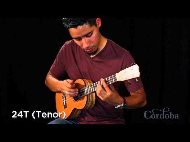 Córdoba 24 Series Ukuleles Comparison by Carlos Gallardo-Candia