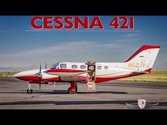 1973 Cessna 421 twin-engine flight tour