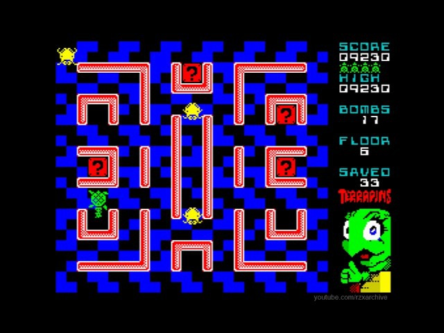 Terrapins Walkthrough, ZX Spectrum