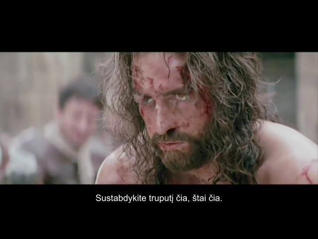 Jim Caviezel liudijimas (aktorius, kuris vaidino filme Kristaus kančia)
