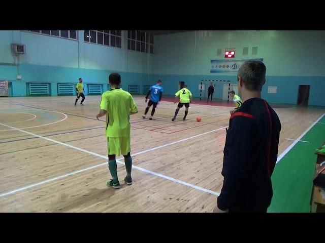 11 й тур Высшей Лиги г Запорожье по мини футболу Демос АльтезаАвто 2 0