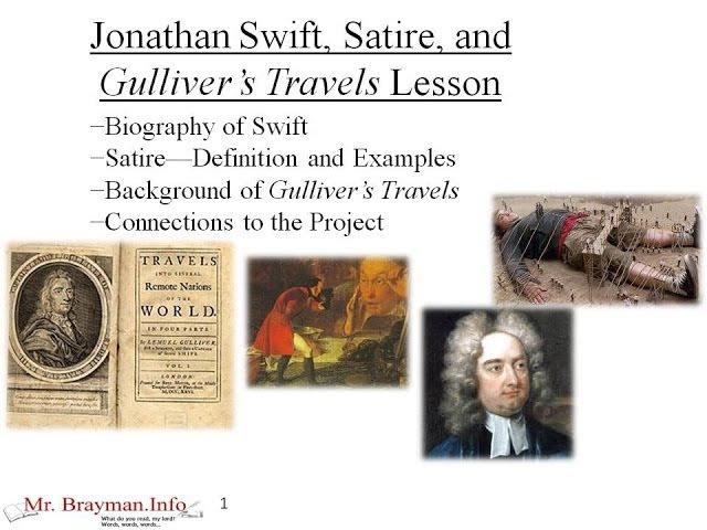 use satire jonathan swift s gulliver s travels