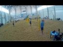 Beach volley Cup U20 Russia 2018 M09 Gusev-Shustrov and Kirienko-Shevchenko