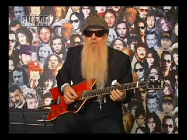 Billy Gibbons Playing the Blues