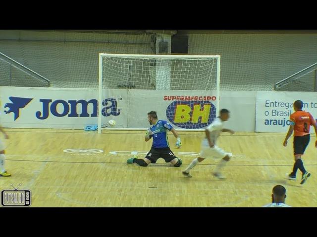 Gols Minas 3 x 1 Carlos Barbosa - Oitavas de Final Jogo 1 Liga Nacional de Futsal 2017 (16/09/2017)