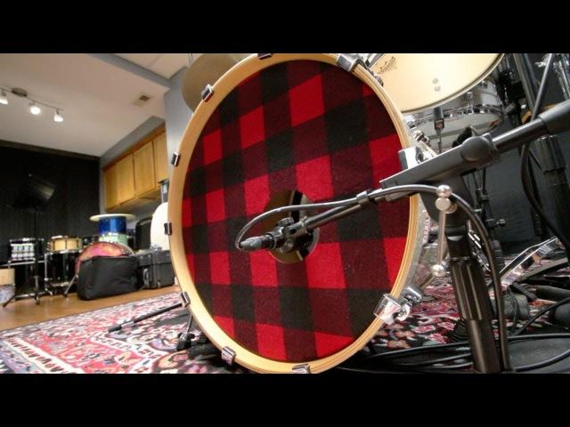Flannel Bass Drum Head