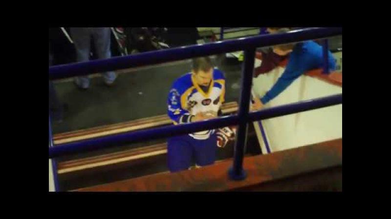 A.J Smith Jumps David James EPL fight 9-4-11