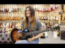 Wow Sinead Burgess singing Ramblin Man with our 1950's Gibson LG 3 4 at Norman's Rare Guitars