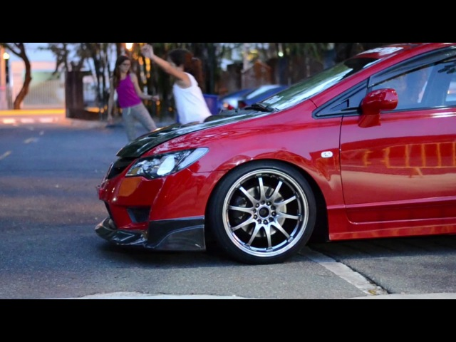 Alexi's Honda Civic FD2R Iron Man ESPINAL FILMS