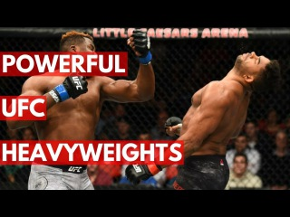 TOP 5: Most powerful UFC heavyweights of All Time