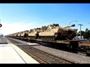 BNSF - Union Pacific Military Train - 8/2/15