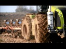 Claas Xérion 5000 Grégoire-Besson HARD Condition at Ploughing 2014