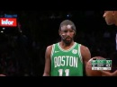 Kyrie Irving is Frustrated With the Mask   Celtics vs Nets   November 14, 2017   2017-18 NBA Season
