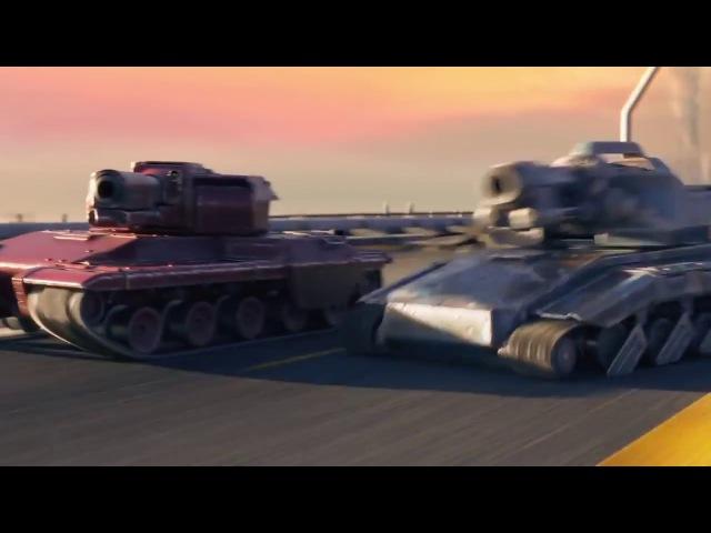 Трейлер онлайн игры Tanki X | Танки Х