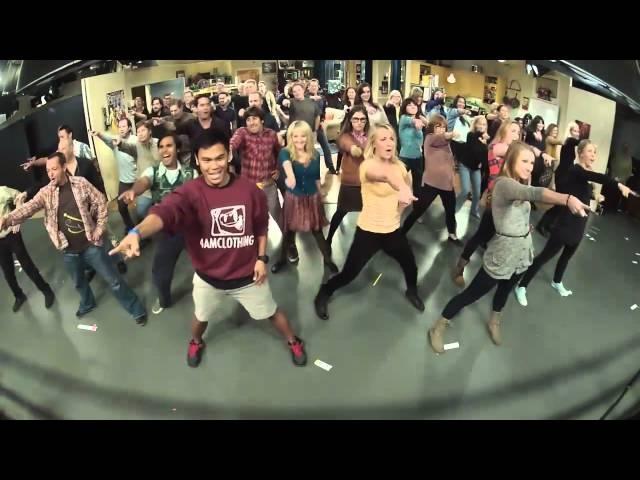 The Big Bang Theory Flash mob!