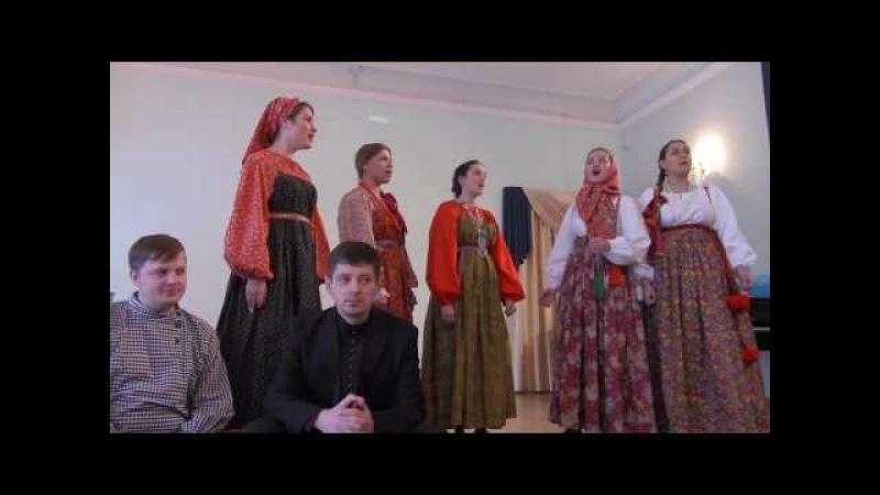 Отчетный концерт Ансамбля Раменье