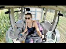 GIRL ON TRACTOR | Giulia and Fendt 412 | Mais Silage