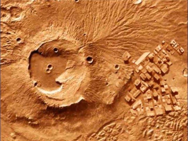 СНИМКИ МАРСА подтверждают, на планете существовала высокоразвитая цивилизация