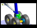 MBD for ANSYS - Landing Gear (Rigid Body)
