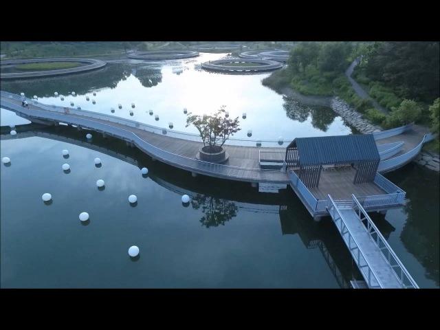 광교호수공원 Lake park drone footage