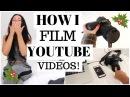 How I film my YouTube videos! | Vlogmas 5