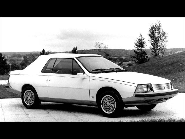 Renault Fuego Cabriolet Concept by Heuliez '1982