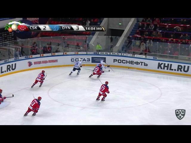 КХЛ (Континентальная хоккейная лига) - Моменты из матчей КХЛ сезона 16/17 - Удаление. Зайцев Егор (Д