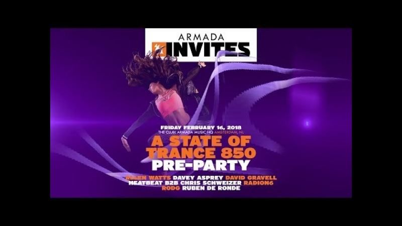 Armada Invites: A State Of Trance 850 Pre-Party: Rodg