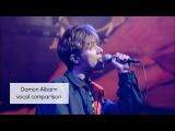 Damon Albarn Vocal Comparison (1994 - 2015)