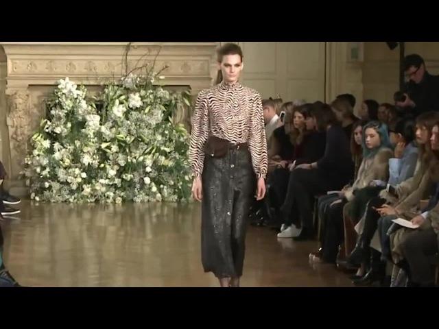 Long Button Down Skirt - Vanessa Seward Fall 2016