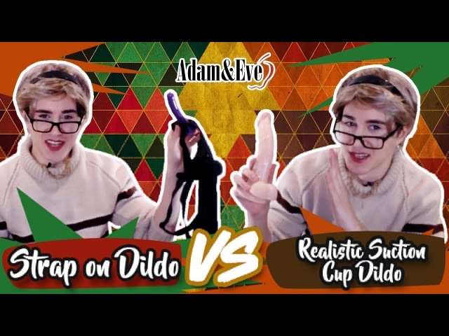 Best Dildos for Pegging | Strap On Dildo VS. Realistic Suction Cup Dildo Review