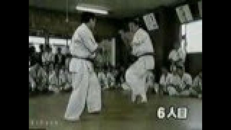 Kyokushin - kancho Shokei Akiyoshi Matsui